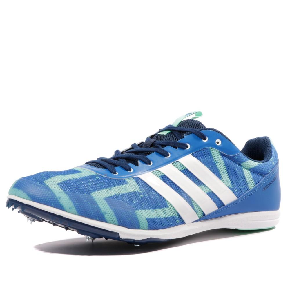 Détails sur Distancestar Homme Chaussures Athlétisme Noir Adidas Bleu