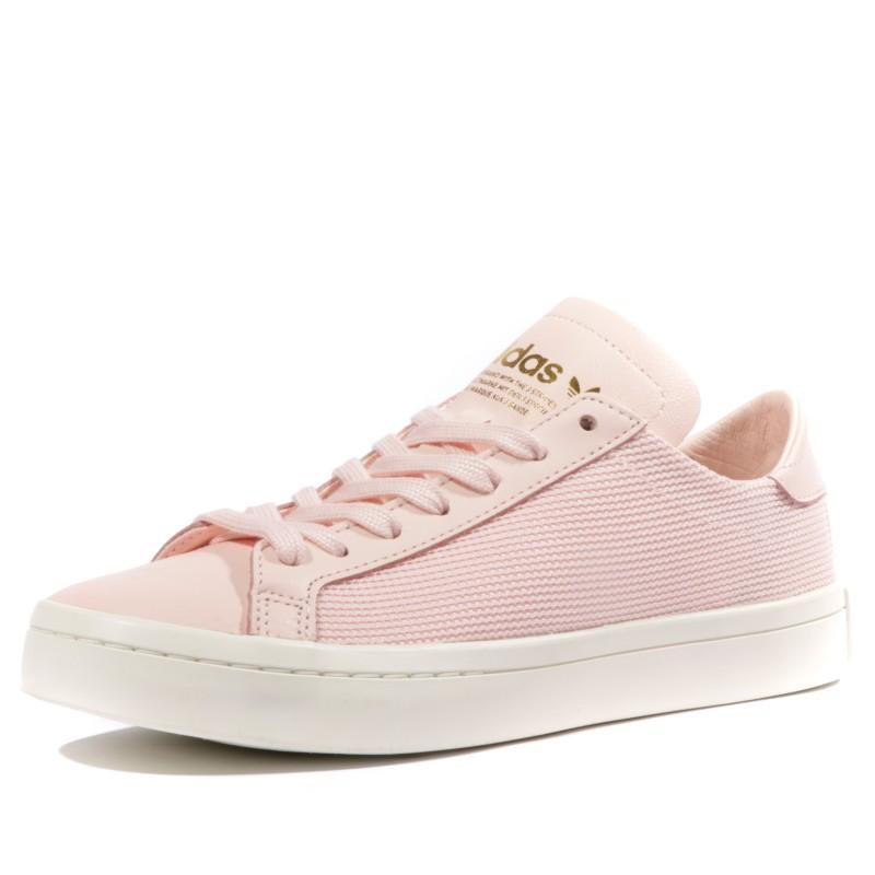 Courtvantage Femme Chaussures Rose Adidas