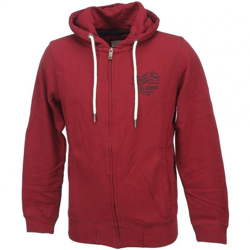 Sweat Homme Bordeaux Petrol Industries