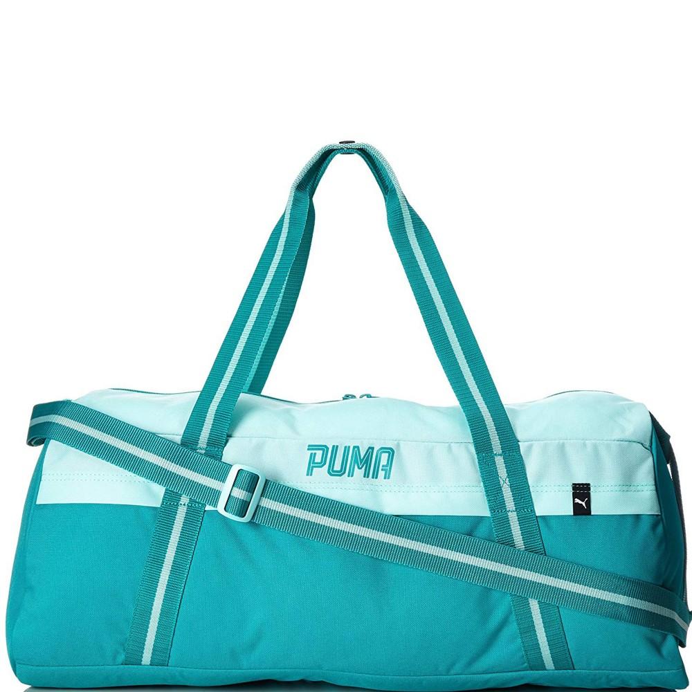 Détails Sur Fundamentals Femme Sac De Sport Vert Puma Vert