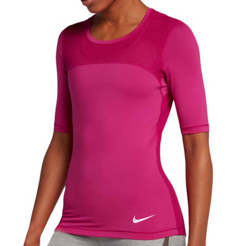 Pro Hypercool shirt Tee Rose Nike Femme Entrainement iTOXlwkZuP