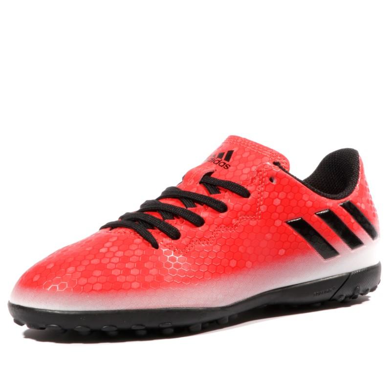 Rouge 4 16 Messi Garçon Tf Chaussures Adidas Futsal xYa57qw7