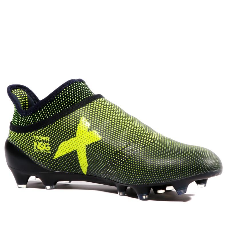 official photos 2c7e5 b9220 X 17+ Purespeed FG Homme Chaussures Football Noir Jaune Adid