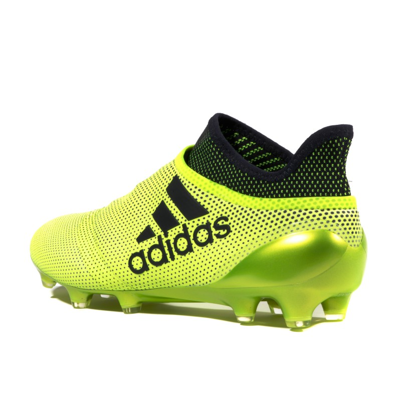 detailed look f51d1 38203 X 17+ Purespeed FG Homme Chaussures Football Jaune Adidas