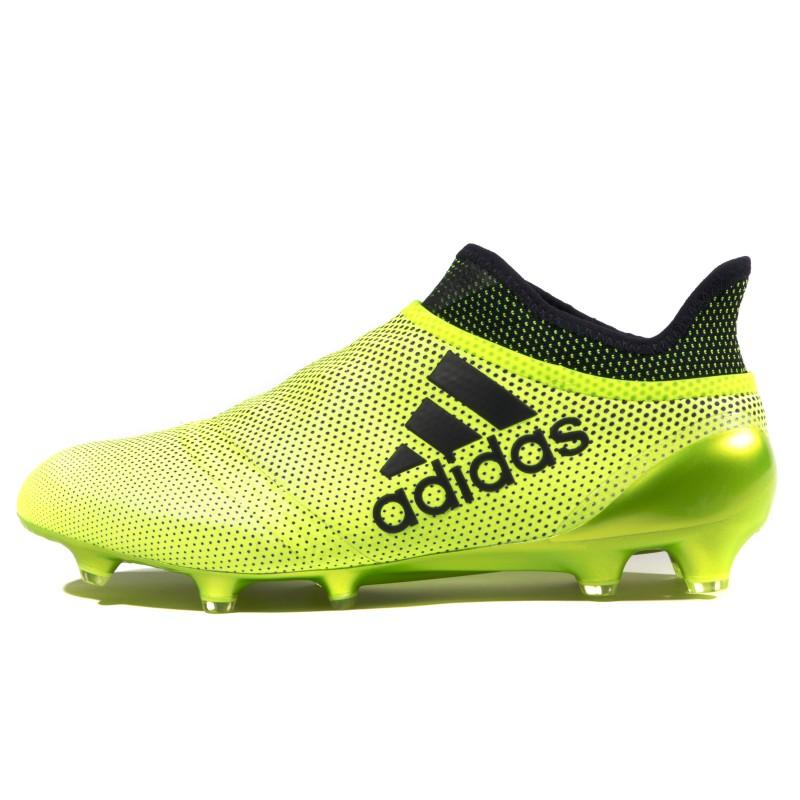 X 17+ Purespeed FG Homme Chaussures Football Jaune Adidas