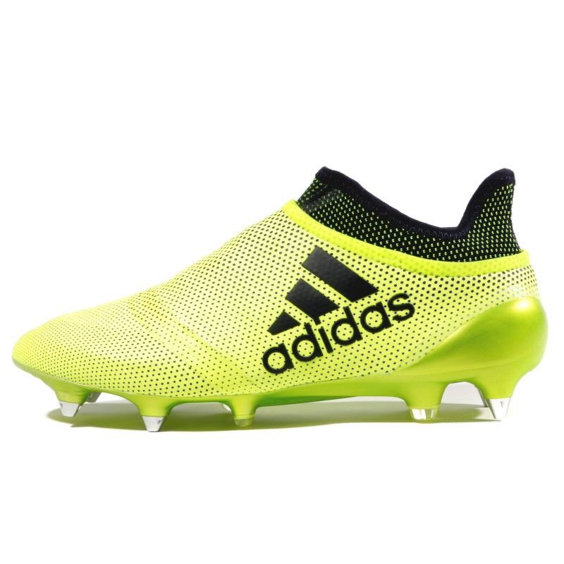 X 17+ Purespeed SG Homme Chaussures Football Jaune Adidas
