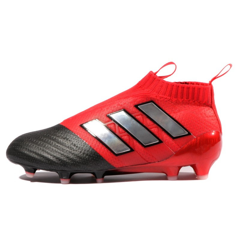 Chaussures football adidas ACE 17+ Purecontrol FG Rouge