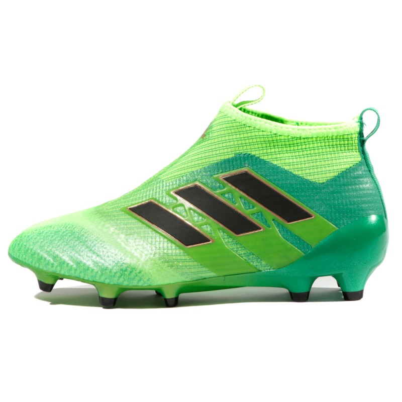 Chaussures football adidas ACE 17+ Purecontrol FG Vert