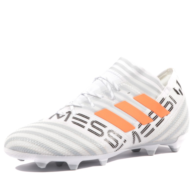 Adidas Blanc 17 Fg Garçon 1 Nemeziz Messi Chaussures Football 1FJlKc