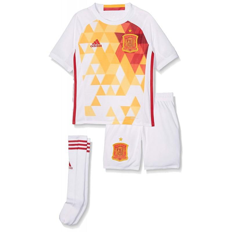 Garçon Minikit Espagne Adidas Football Blanc 8wXPNn0kZO