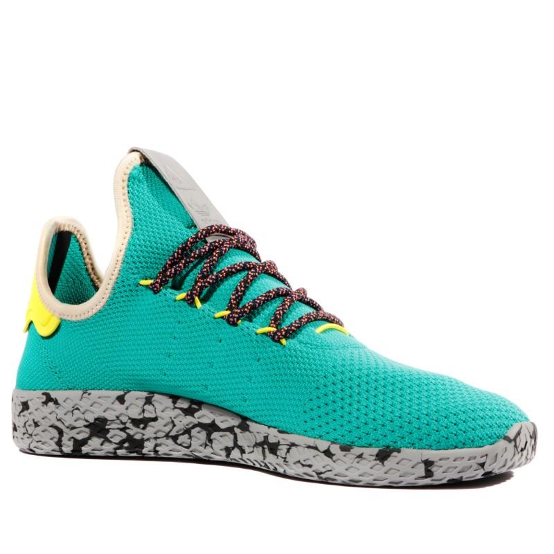 Pharrell Williams Homme Garçon Chaussures Vert Adidas