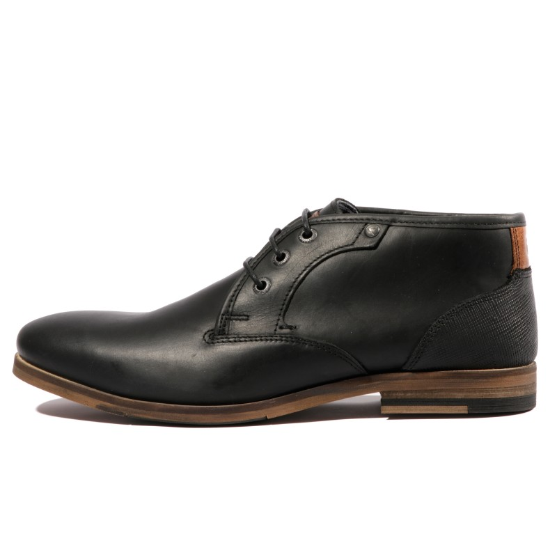 Alerte Homme Chaussures Noir Redskins