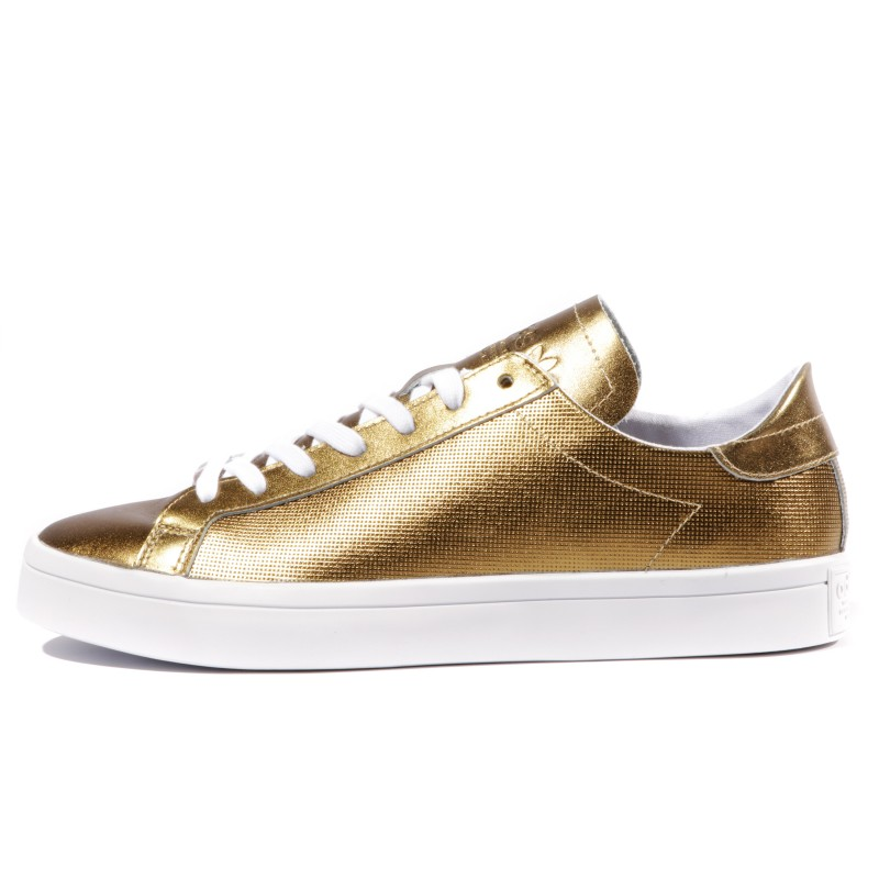 Courtvantage Femme Chaussures Or Brillant Adidas