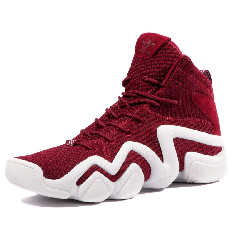 Crazy 8 PK ADV Homme Chaussures Rouge Blanc Adidas