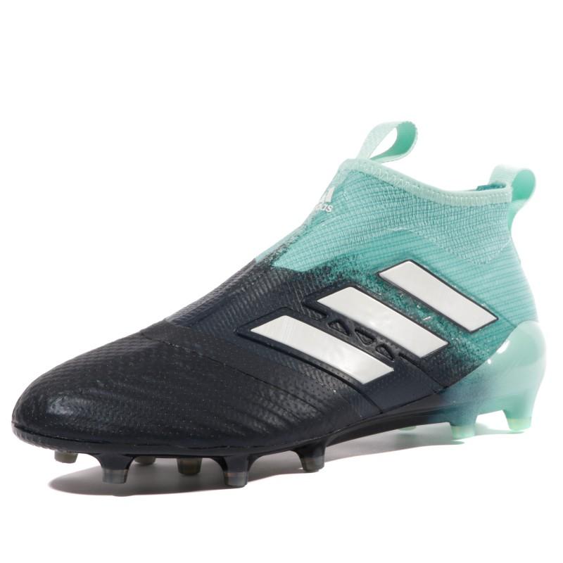 Ace 17+ Purecontrol FG Homme Chaussures Football Noir Bleu Adidas