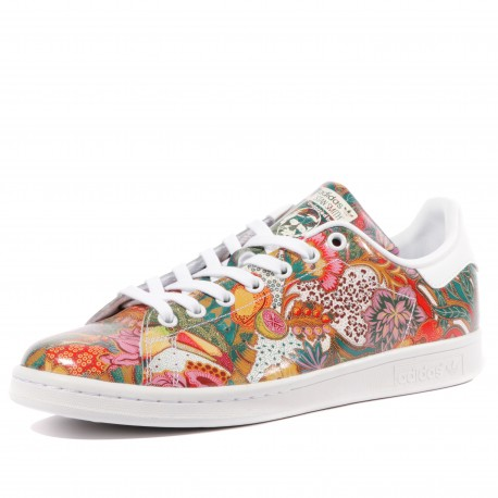 Stan Smith Homme Chaussures Rouge Adidas