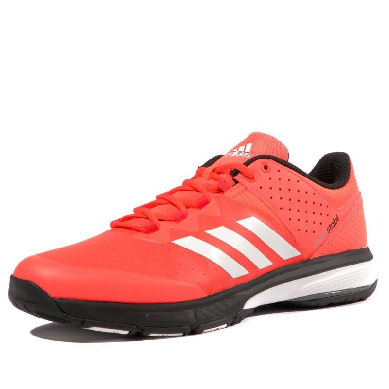 Adidas Stabil Handball Chaussures Court Rouge Homme hCBrdtsQx