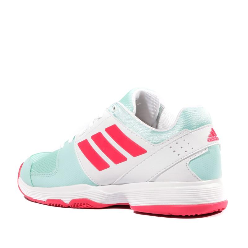Barricade Court Femme Chaussures Tennis Blanc Adidas
