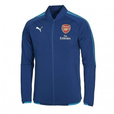 Arsenal Garçon Veste Football Bleu Puma