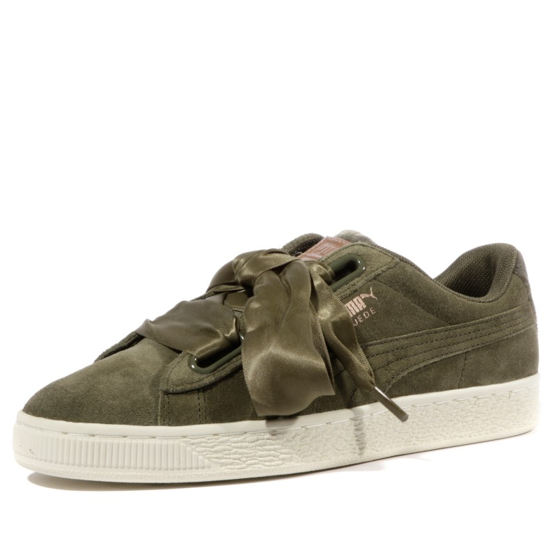 puma femme chaussures vert