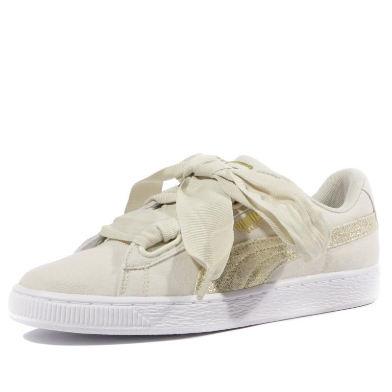 puma beige femme chaussures