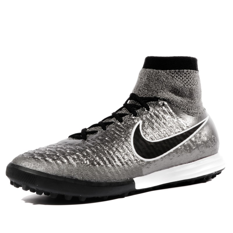 new styles e10d1 2f13c Magistax Proximo TF Homme Chaussures Futsal Gris Nike