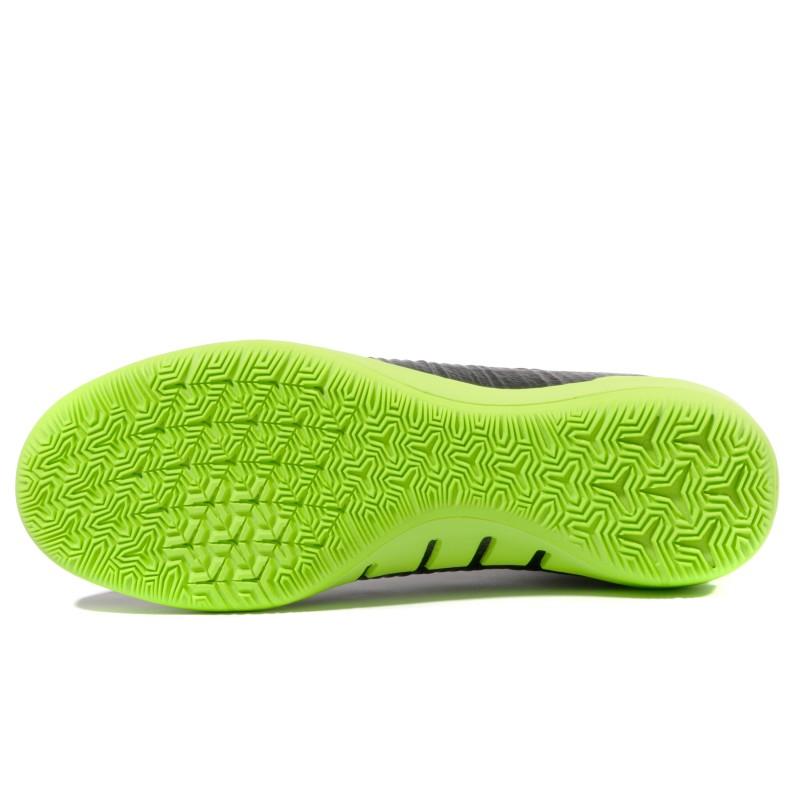 Mercurialx Proximo IC Homme Chaussures Futsal Noir Vert Nike