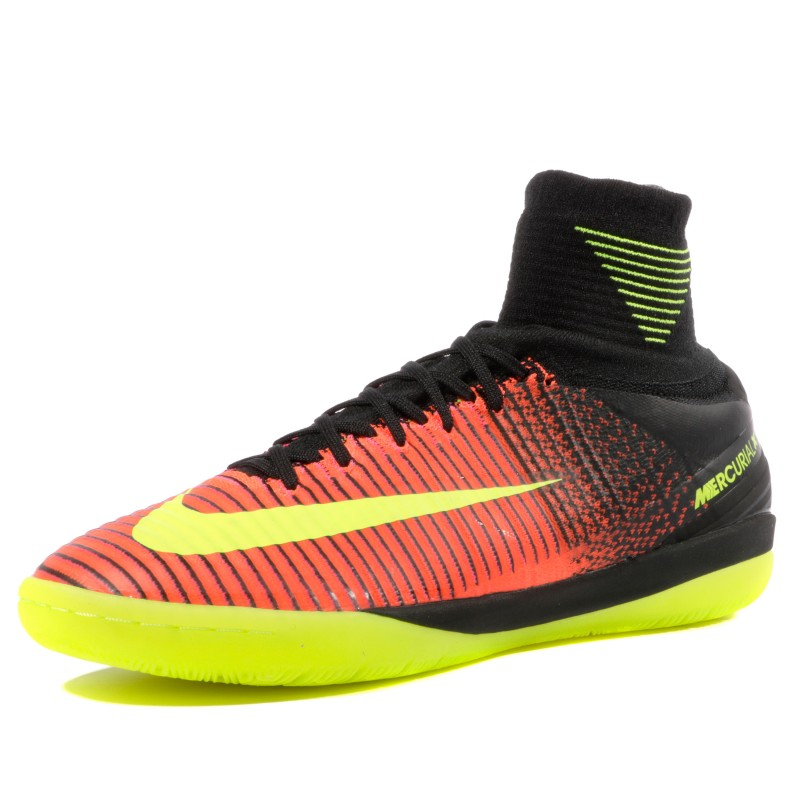 official site performance sportswear aliexpress Mercurialx Proximo II IC Homme Chaussures Futsal Rouge Noir Nike