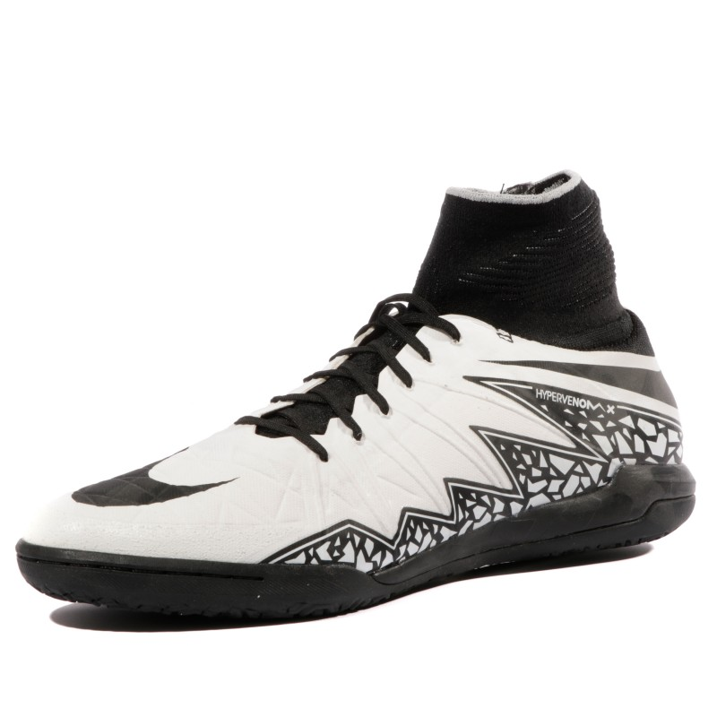 Hypervenomx Nike Chaussures Blanc Homme Noir Futsal Proximo Ic 2I9DEH