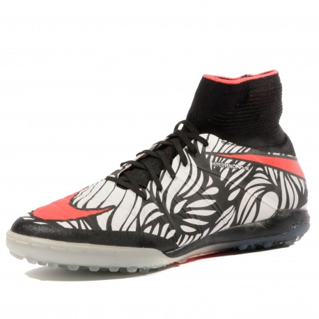 Hypervenomx Proximo TF Homme Chaussures Futsal Blanc Noir Nike