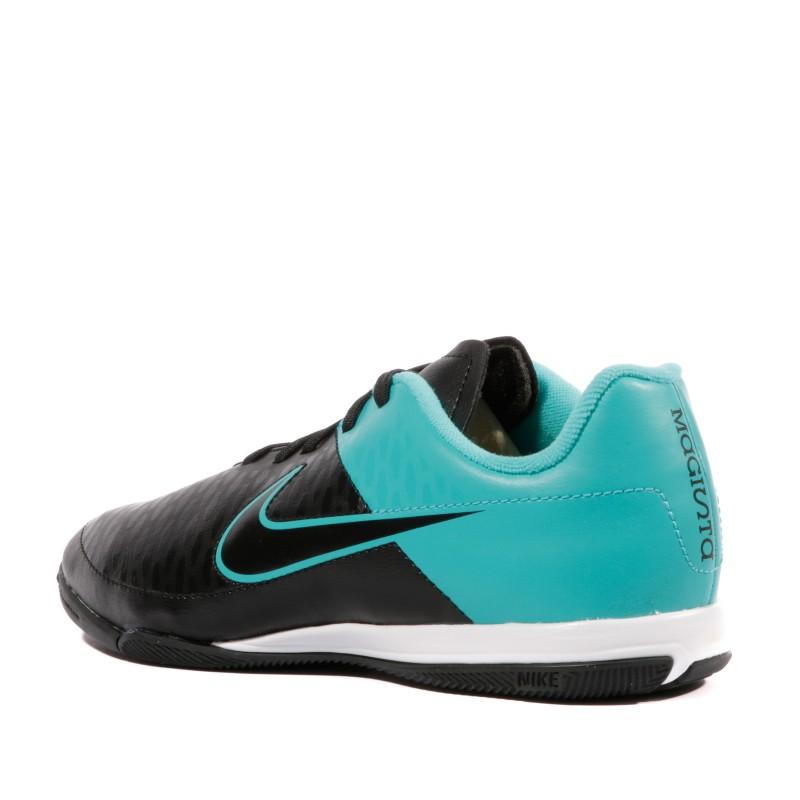 Magista Onda IC Garçon Chaussures Futsal Noir Bleu Nike