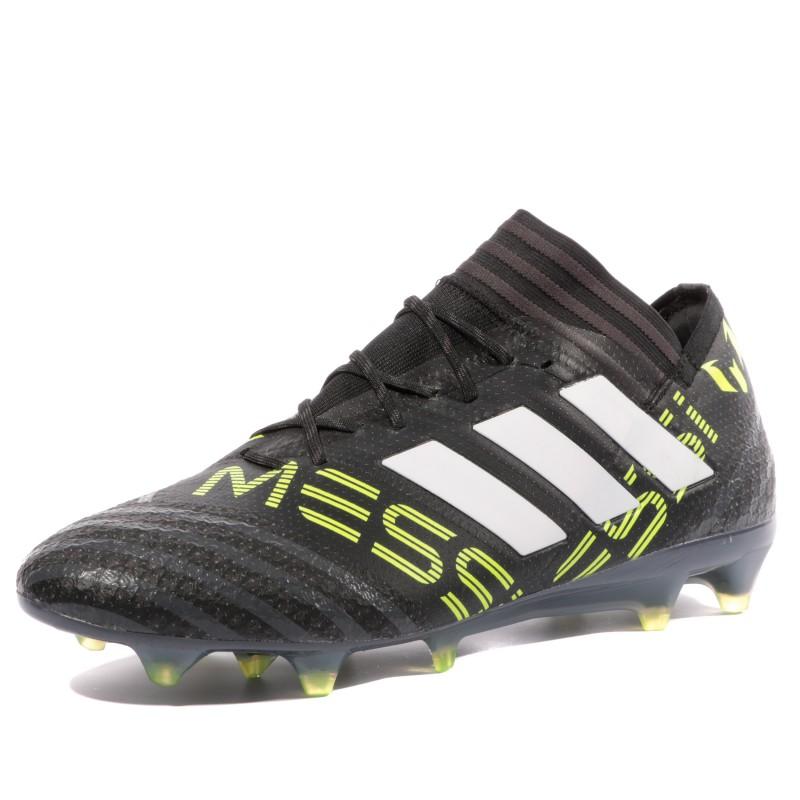 Nemeziz Messi 17.1 FG Homme Chaussures Football Noir Adidas