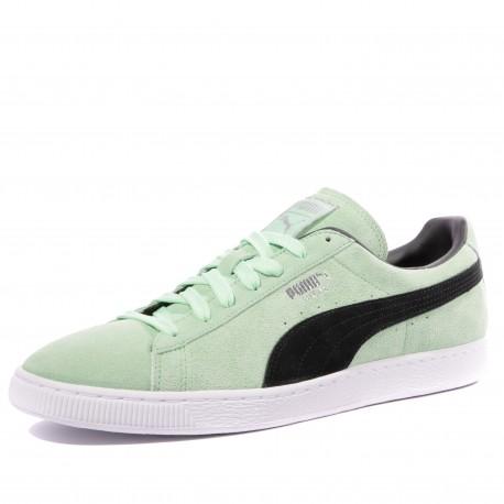 chaussure homme vert puma