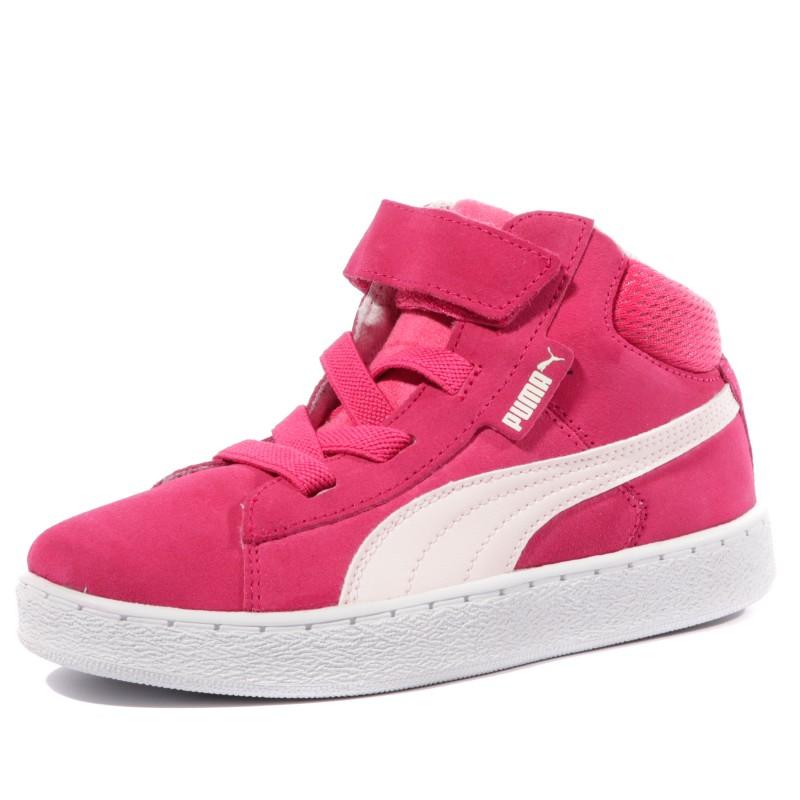 baskets rose puma