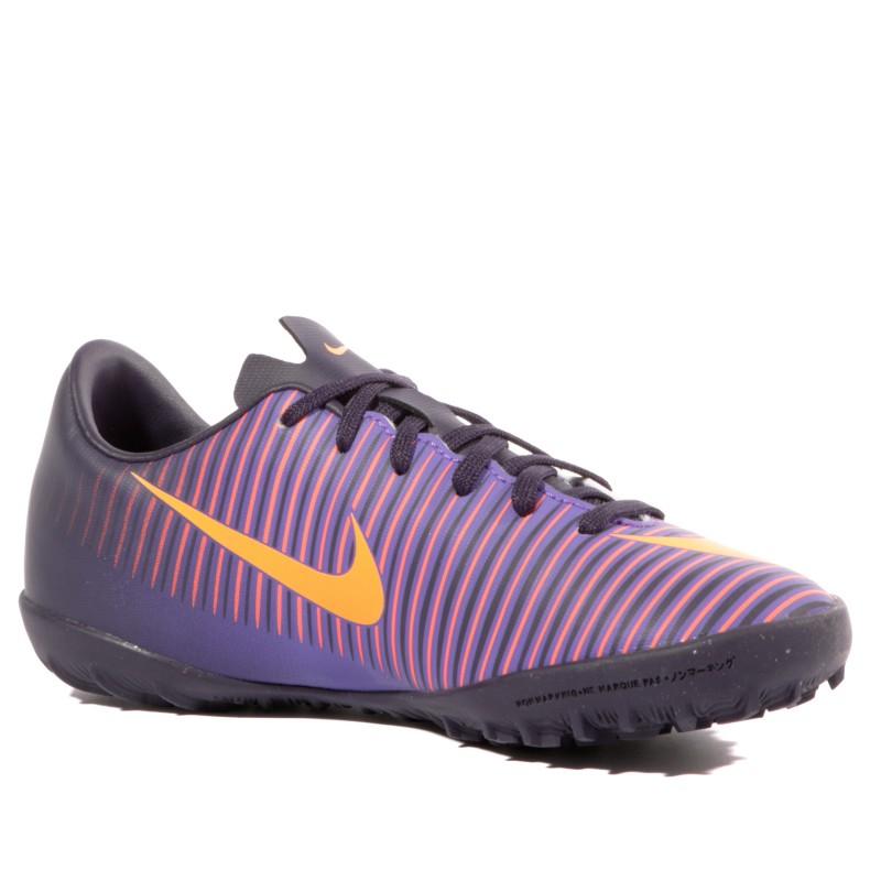 Mercurialx Vapor XI TF Garçon Chaussures Futsal Violet Nike