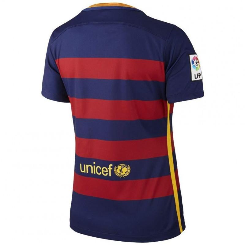FC Barcelone Stadium Femme Maillot Football Bleu Nike