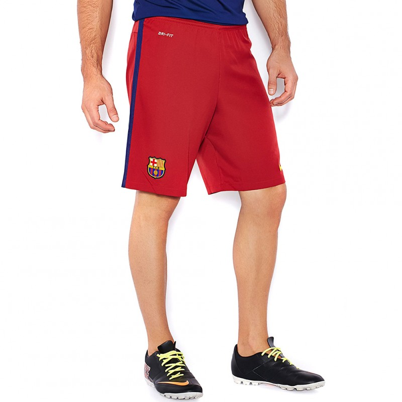 FC Barcelone Stadium Homme Short Football Rouge Nike