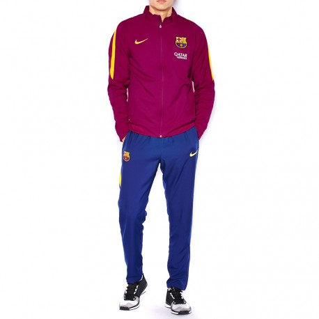 FC Barcelone Homme Survêtement Football Violet Nike