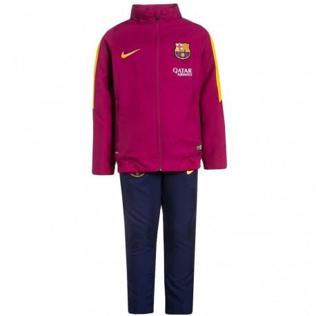 FC Barcelone Garçon Survêtement Football Violet Nike