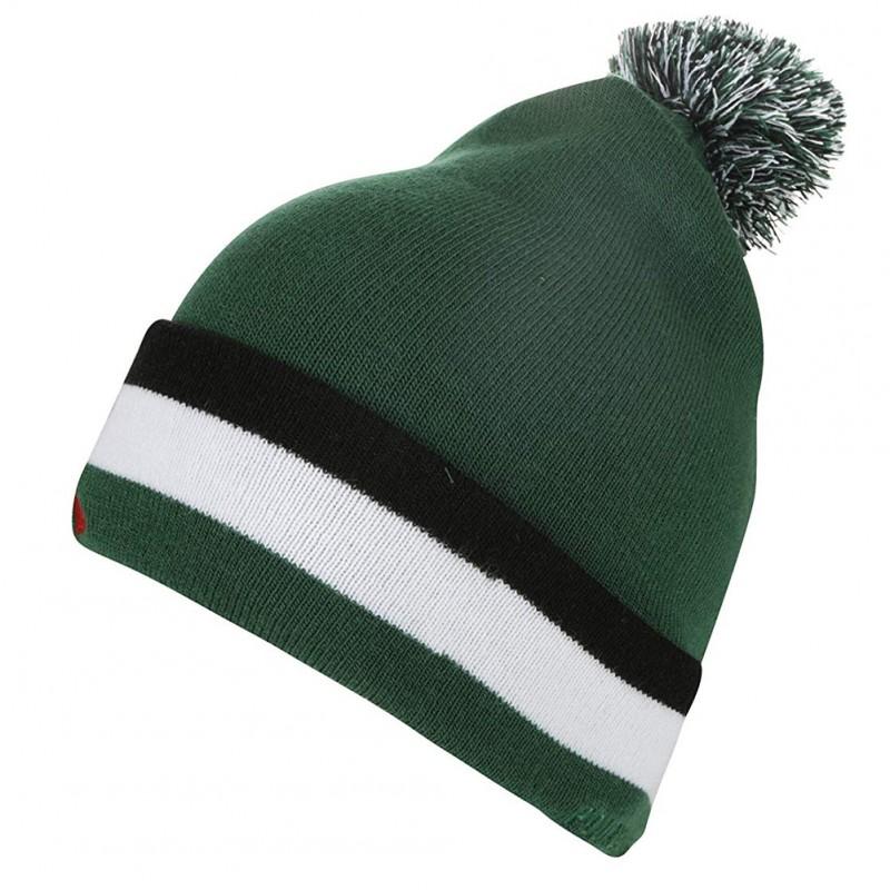 asse saint etienne homme bonnet football vert le coq sportif. Black Bedroom Furniture Sets. Home Design Ideas
