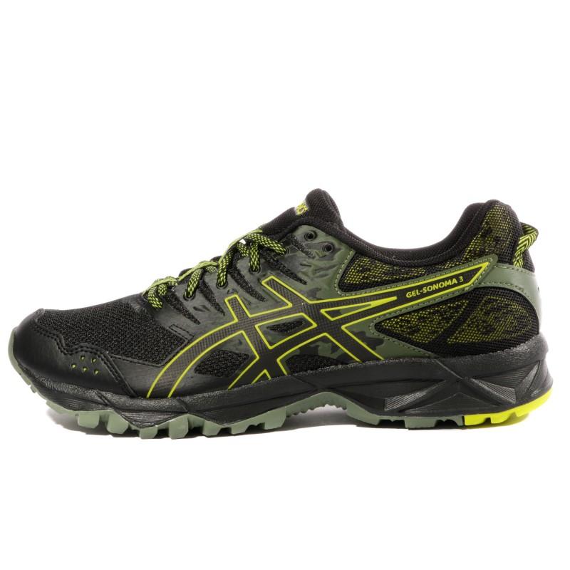 Gel Sonoma Runningnoir Chaussures Trail Asics 3 Homme KuF5lJcT13