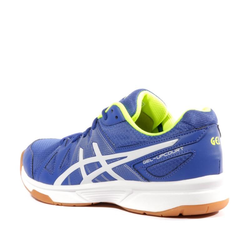asics bleu badminton