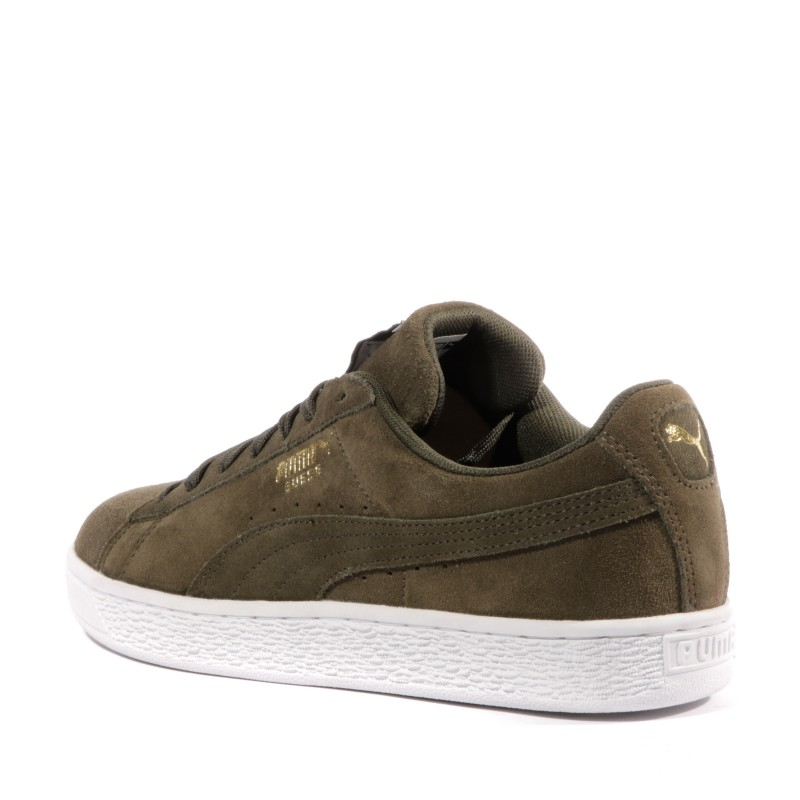 Suede Classic + Homme Chaussures Kaki Puma
