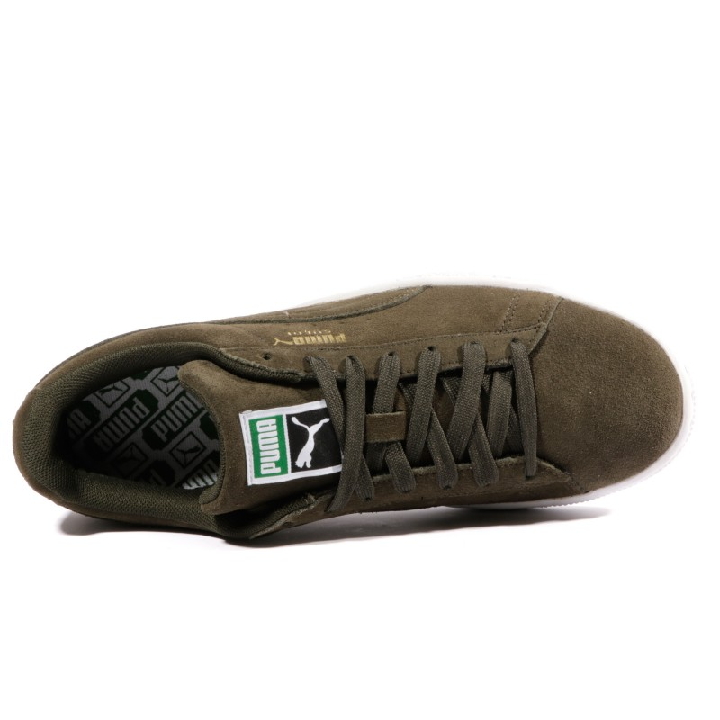 Puma Suede ClassicHomme Kaki Chaussures Suede Chaussures Kaki ClassicHomme QCBoWErdex
