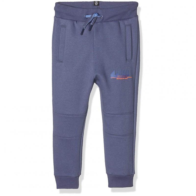Girls Style Fille Pantalon Bleu Puma