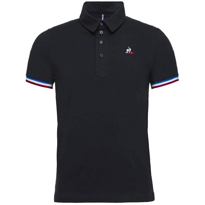 c888fc6917a8 Tri Homme Polo Noir Le Coq Sportif