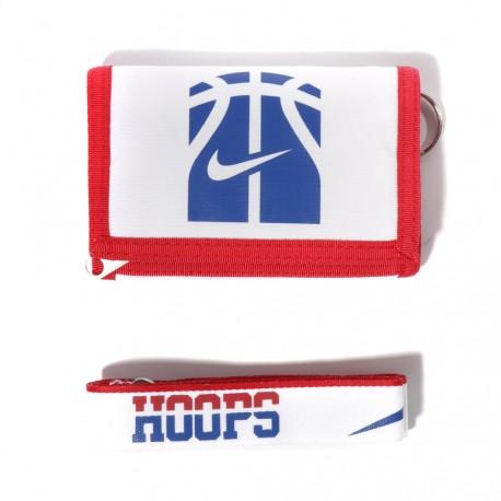 Coffret Portefeuille/Porte-clé Hoops Basketball Blanc Nike