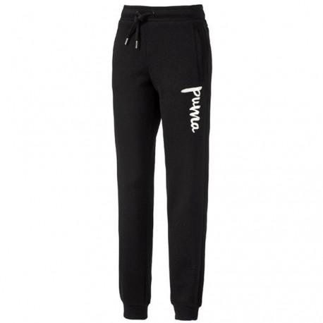 Style Sweat Fille Pantalon Noir Puma