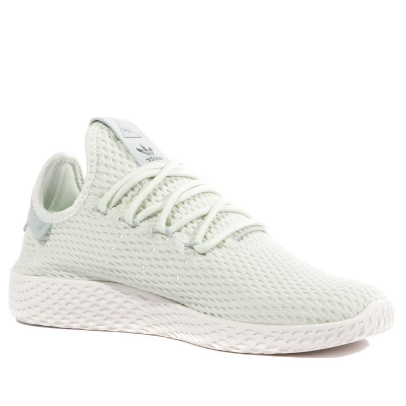 Pharrell Williams Garçon Fille Chaussures Vert Adidas