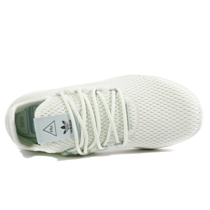 site réputé fd90d e04be Pharrell Williams Garçon Fille Chaussures Vert Adidas